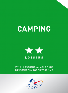 camping 2 etoiles atout france